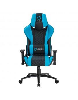 GX3-Blue Gaming Chair Black Blue